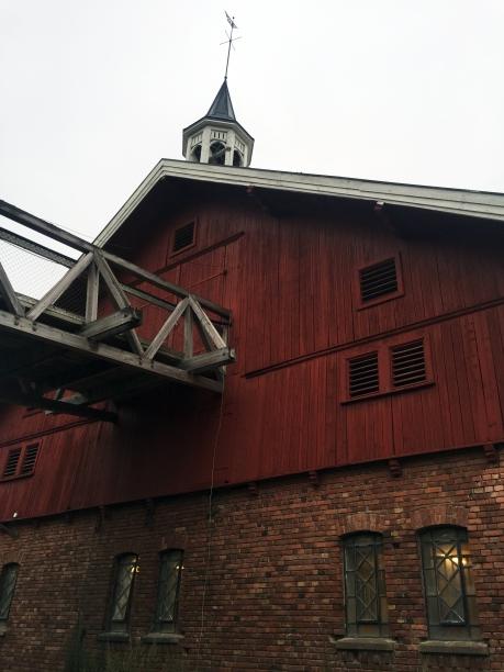Starten ved Losby Gård